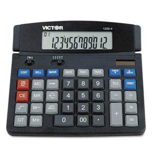 Victor® 1200-4 Business Desktop Calculator