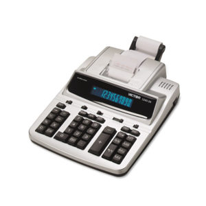 Victor® 1240-3A Commercial Printing Calculator with Built-in Antimicrobial Protection