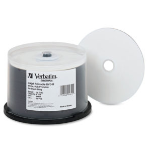Verbatim® DVD-R DataLifePlus Printable Recordable Disc