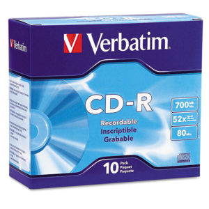 Verbatim® CD-R Recordable Disc