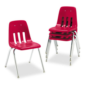 Virco® 9000 Series Plastic Stack Chair