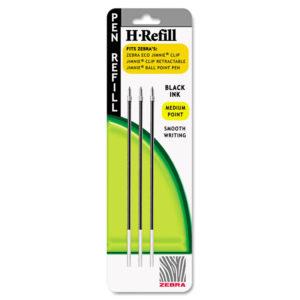 Zebra® H-Refill for Zebra® Jimnie® Clip Retractable Ballpoint Pens