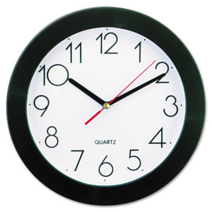 Universal® Bold Round Wall Clock
