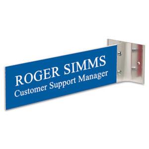 Headline® Sign Custom Engraved Hallway Sign