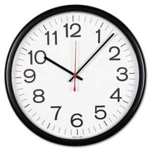 Universal® Indoor/Outdoor Clock