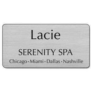 Identity Group Custom Engraved Name Badge