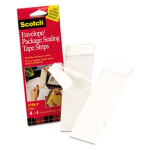 Scotch® Envelope/Package Sealing Tape Strips