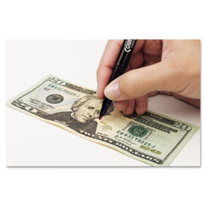 MMF Industries™ Counterfeit Currency Detector Pen