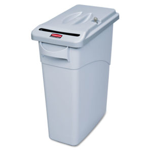Rubbermaid® Commercial Slim Jim® Confidential Document Retrofit Lid Kit