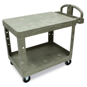 Rubbermaid® Commercial Flat Shelf Utility Cart