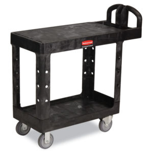 Rubbermaid® Commercial Flat Shelf Utility Cart
