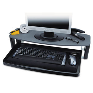 Kensington® Over/Under Keyboard Drawer SmartFit®