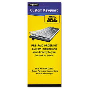 Fellowes® Custom Keyguard Keyboard Kit