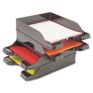 deflecto® Docutray® Multi-Directional Stacking Tray Set