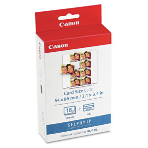 Canon® 7740A001 Ink & Label Set
