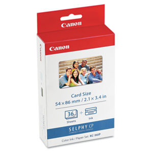 Canon® 7739A001 Ink & Paper Set