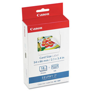 Canon® 7741A001 Ink & Label Set