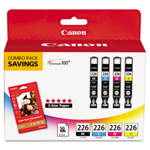 Canon® 4546B007AA Ink & Paper Combination