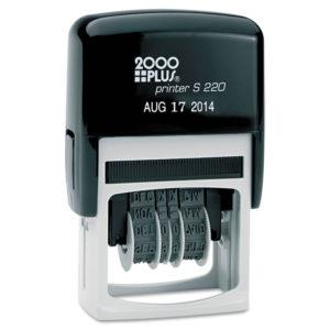 COSCO 2000PLUS® Economy Self-Inking Dater