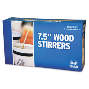 Royal Paper Wood Stir Sticks
