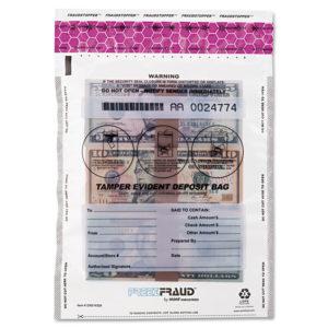 MMF Industries™ FREEZFraud Tamper-Evident Deposit Bags