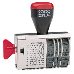 COSCO 2000PLUS® Dial-N-Stamp