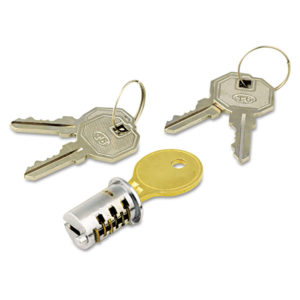Alera® Lock Core for Metal Pedestals