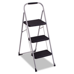Cosco® Three-Step Big Step Folding Step Stool