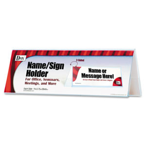 DAX® Name/Sign Holder