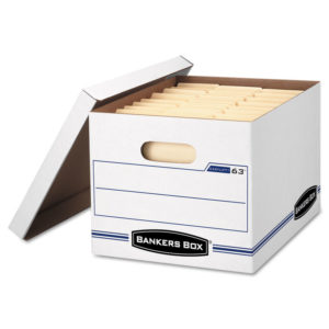 Bankers Box® EASYLIFT™ Basic-Duty Strength Storage Boxes
