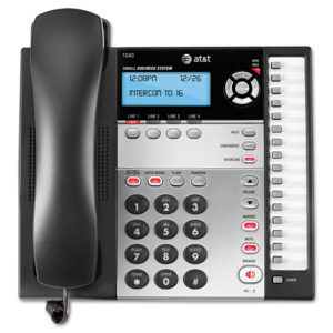AT&T® Corded Four-Line Expandable Business Phone System