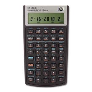 HP 10bII+ Financial Calculator