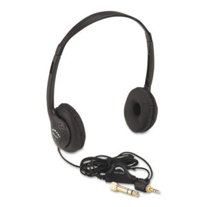 AmpliVox® Personal Multimedia Stereo Headphones with Volume Control