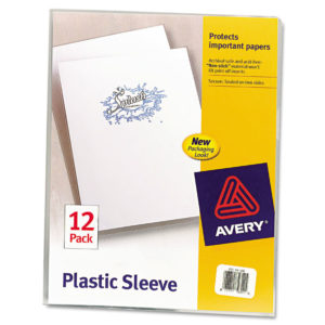 Avery® Clear Plastic Sleeves