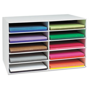 Pacon® Classroom Keepers® Construction Paper Storage Box