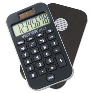 Victor® 900 Antimicrobial Pocket Calculator