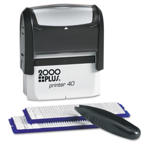 COSCO 2000PLUS® DIY Custom Stamp Kit
