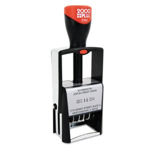 COSCO 2000PLUS® Custom Heavy-Duty Dater