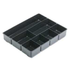 Rubbermaid® Extra-Deep Plastic Desk Drawer Director™ Tray