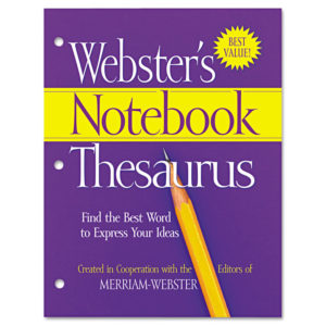 Advantus® Webster's Notebook Thesaurus
