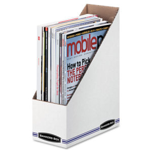 Bankers Box® STOR/FILE™ Corrugated Magazine File