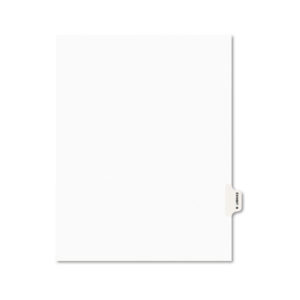 Avery® Legal Index Divider