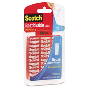 Scotch® Restickable Mounting Tabs