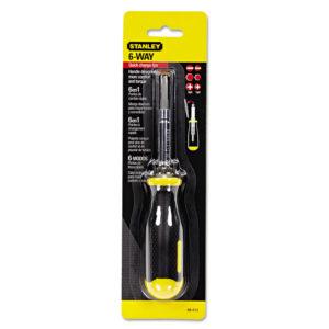 Stanley Tools® 6-Way Screwdriver 68-012