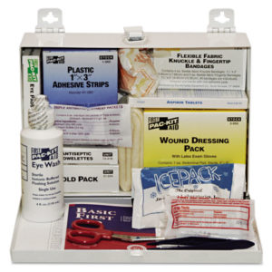 Pac-Kit® 25 Person Industrial First Aid Kit 6100