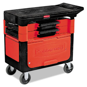 Rubbermaid® Commercial Trades Cart