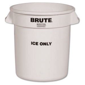 Rubbermaid® Commercial Brute® Ice-Only Container