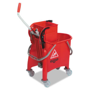 Unger® Side-Press Restroom Mop Bucket Combo