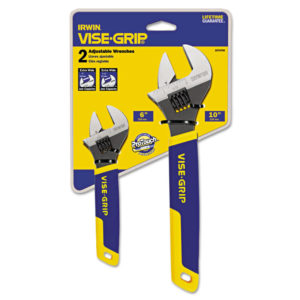 IRWIN® VISE-GRIP® Two-Piece Adjustable Wrench Set 2078700