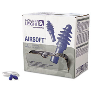 Howard Leight® by Honeywell AirSoft® Multiple-Use Earplugs